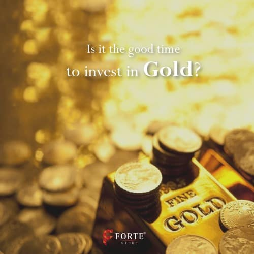 time to invest in gold